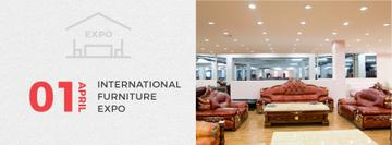 Interior Design Event Vintage Furniture Expo | Facebook Cover Template