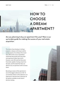 How to choose dream apartment Article with Skyscrapers