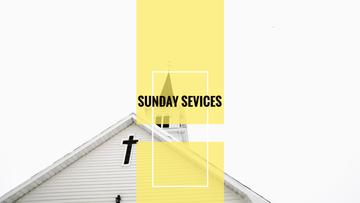Sunday sevices church