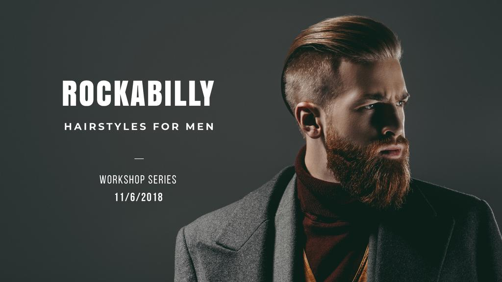 rockabilly hairstyles for men  — ein Design erstellen
