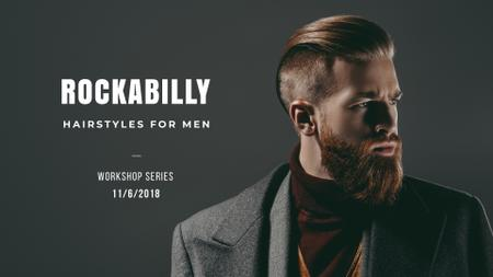 Szablon projektu Hairstyles for men Presentation Wide