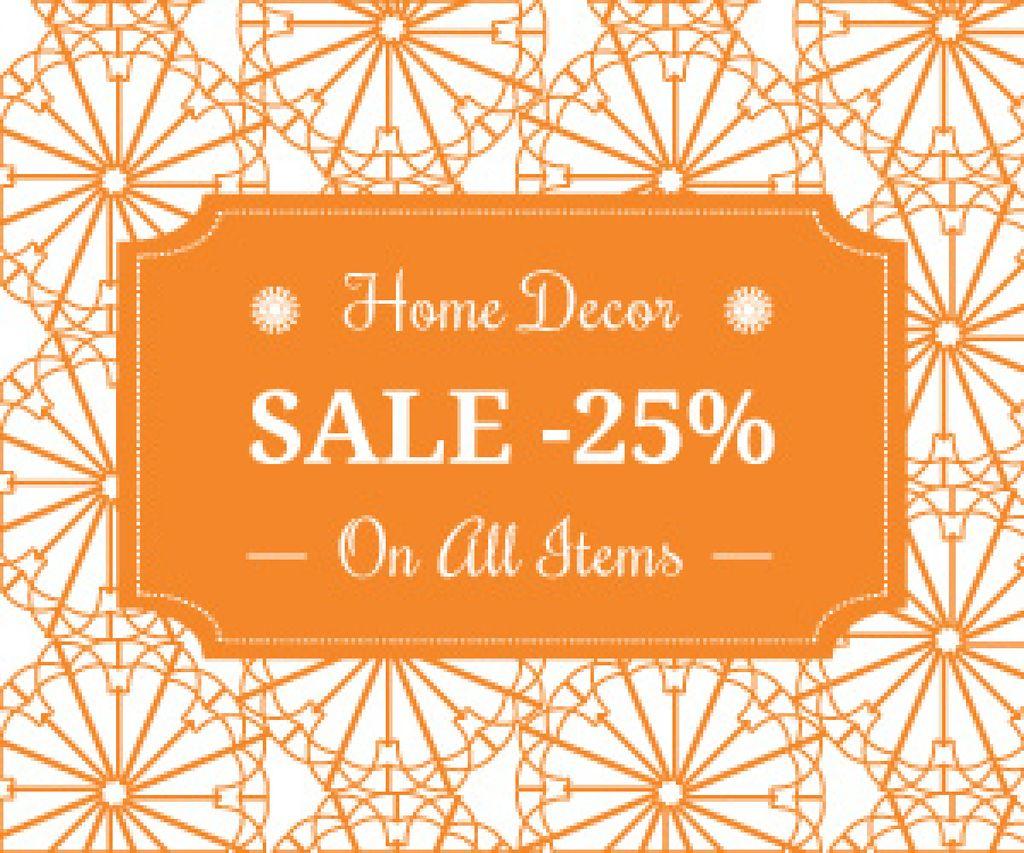 Home decor sale advertisement — Maak een ontwerp