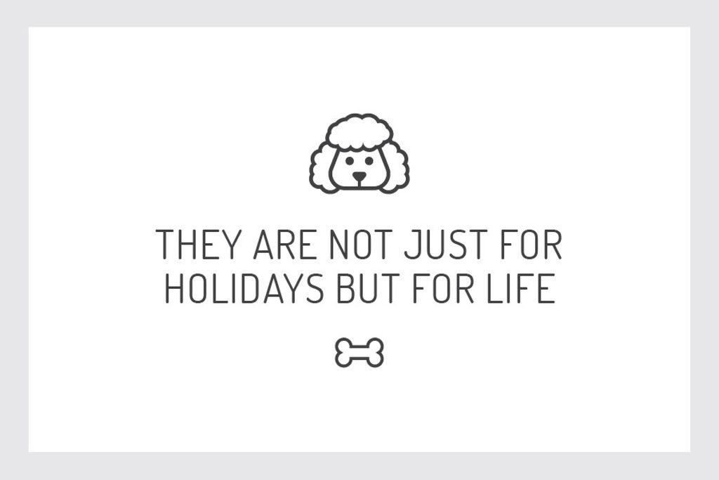 Plantilla de diseño de Citation about dog pet Gift Certificate