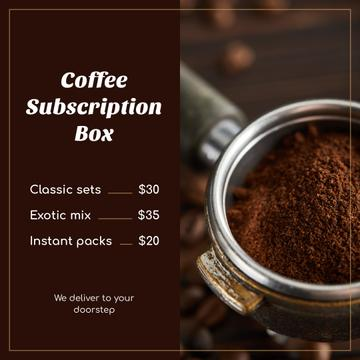 Coffee sets Delivery Offer