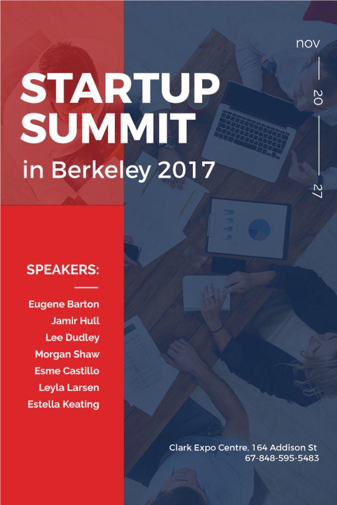 startup summit in Berkeley banner — Create a Design