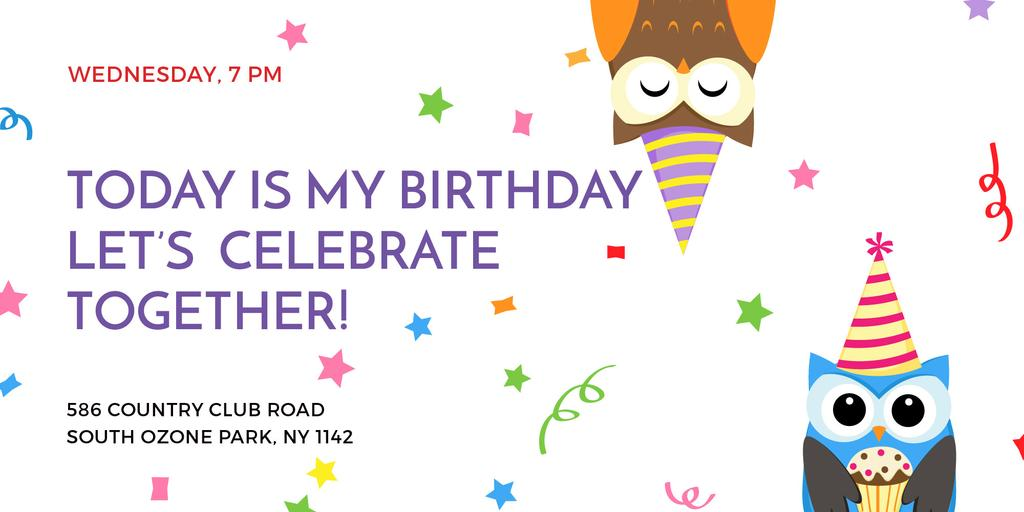 Birthday party in South Ozone park — Crear un diseño