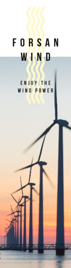 Renewable Energy Wind Turbines Farm — Crear un diseño