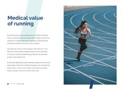 Motivational Citation with Running Woman
