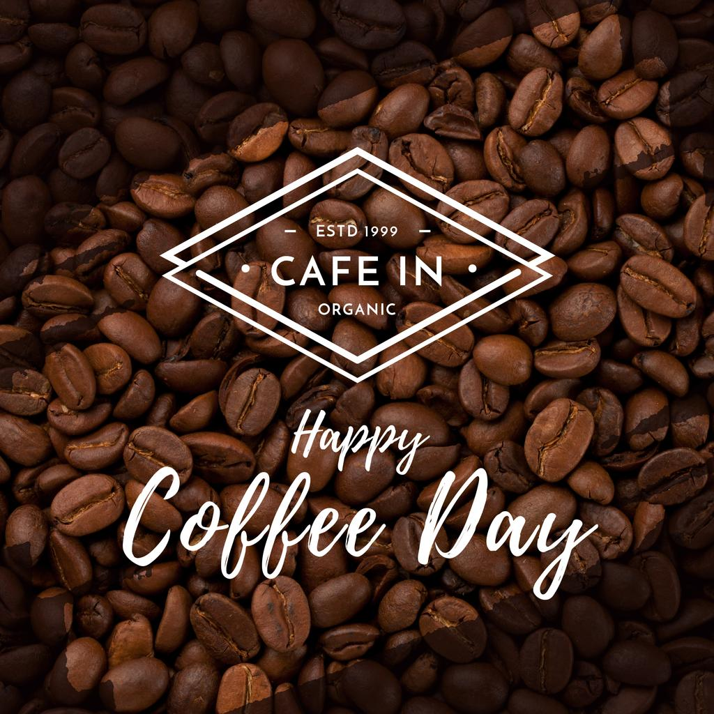 Happy coffee day poster — Create a Design