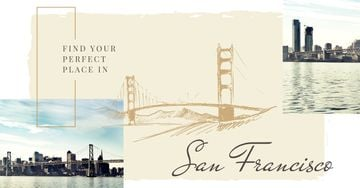 San Francisco Cityscape View | Facebook Ad Template