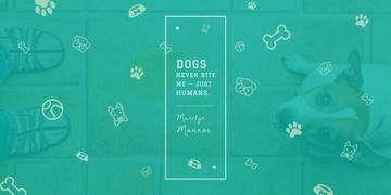Citation about good dogs