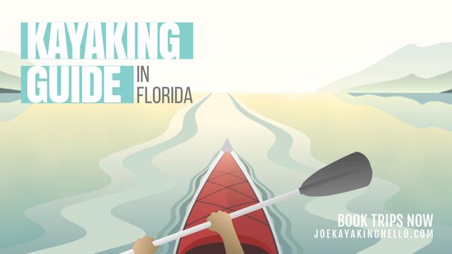 Template di design Man kayaking on calm river Full HD video