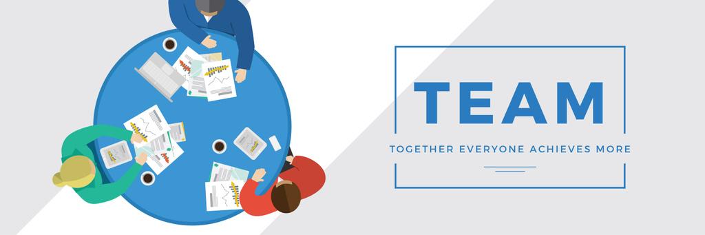 Business people working together at table - Vytvořte návrh