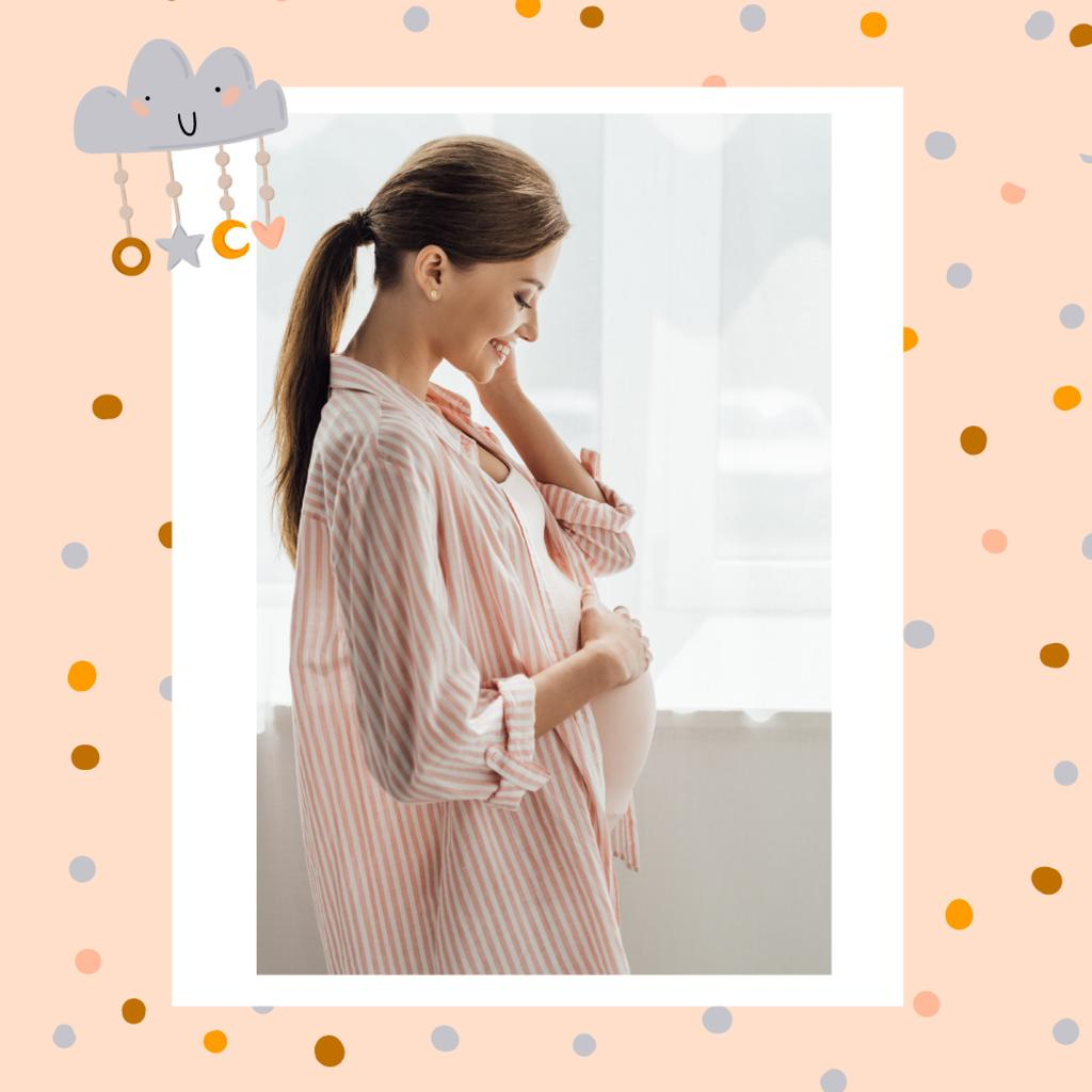 Pregnant Woman expecting baby memories — Create a Design