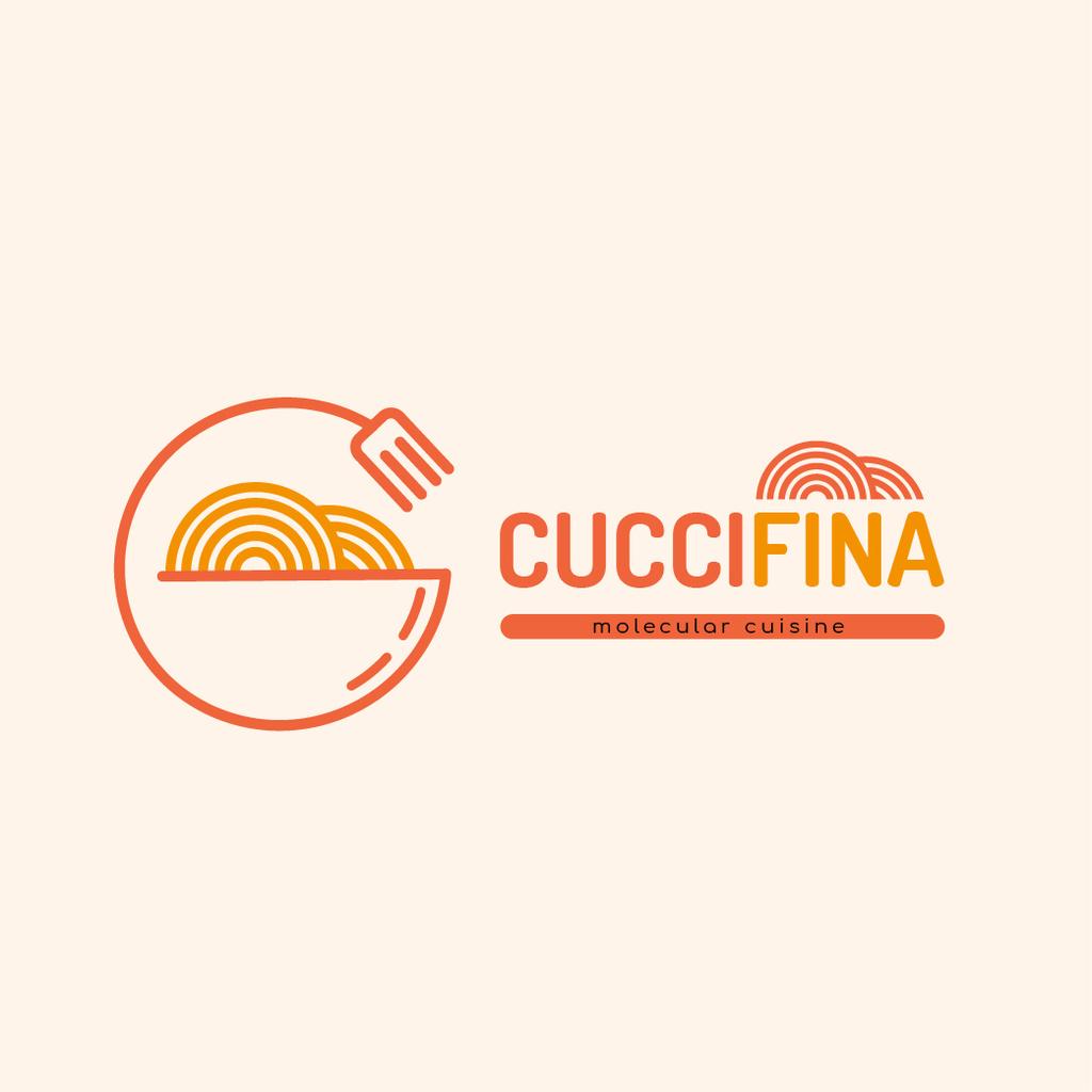 Molecular Cuisine Dish Logo — Create a Design