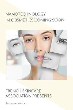 Skincareassociation.fr website poster