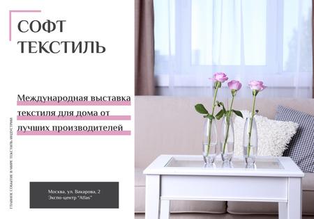 Modèle de visuel Home Decor Ad with Vases and Furniture - VK Universal Post