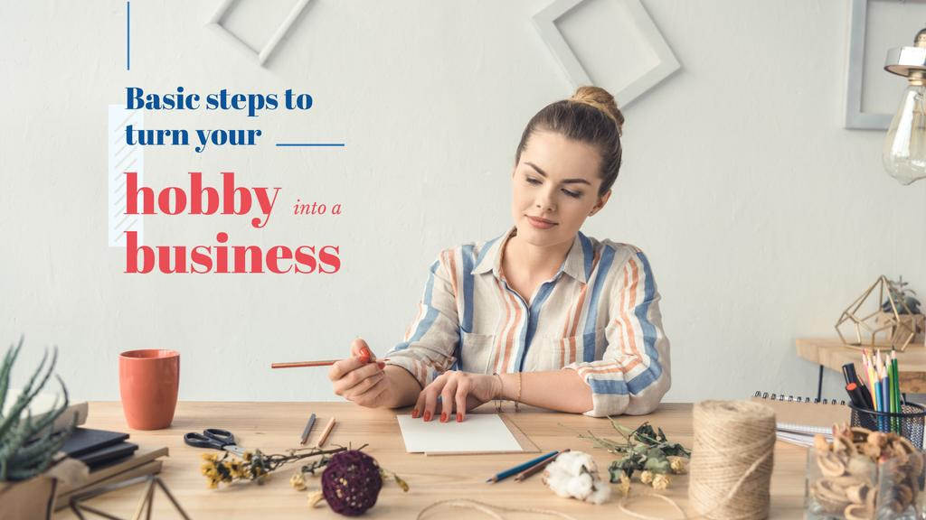 Basic steps to turn hobby into a business — Maak een ontwerp