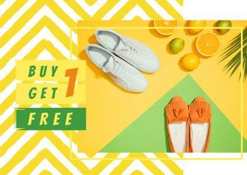 Sale Offer with Two pairs of shoes