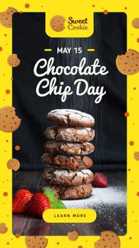 Chocolate chip Day with Cookies