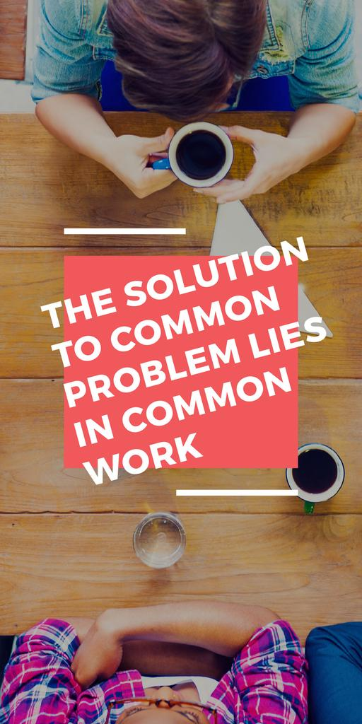 Citation about the solution to common problem — Create a Design