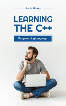 Programming Courses Man Working on Laptop