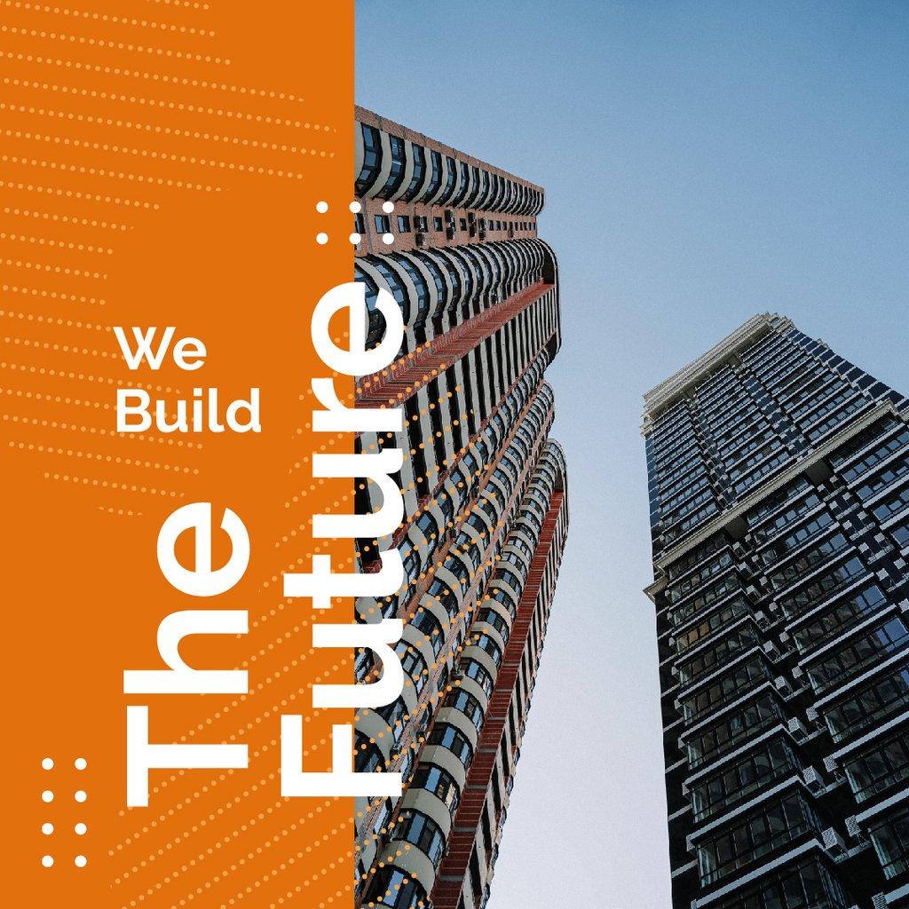 Modern glass building — Create a Design