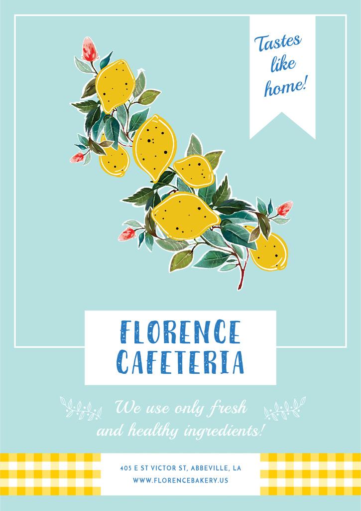 Florence cafeteria Invitation — Maak een ontwerp