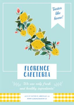 Florence cafeteria poster