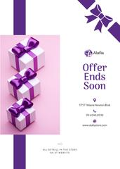 Gift for Pregnant Offer Present Boxes with Bows