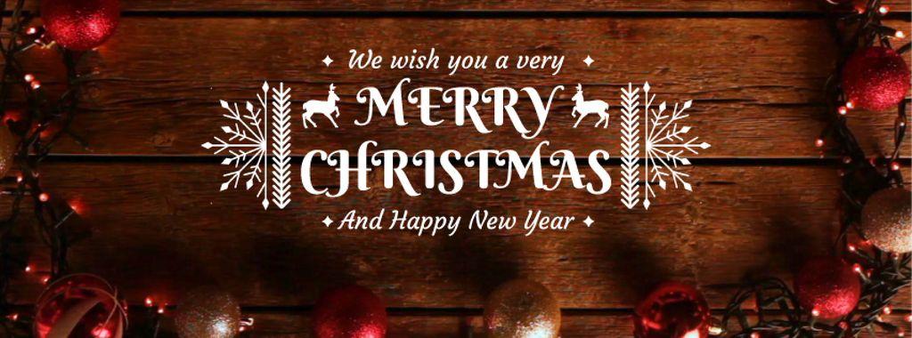 Shiny Christmas decorations — Créer un visuel