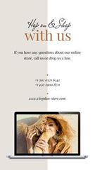 Online Fashion store ad