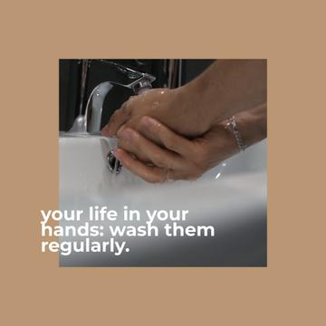 Tip to wash hands regularly