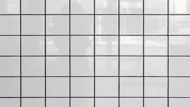 White tiled Wall Zoom Background – шаблон для дизайна