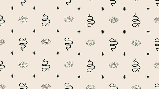 Plantilla de diseño de Abstract elements Green Pattern Zoom Background