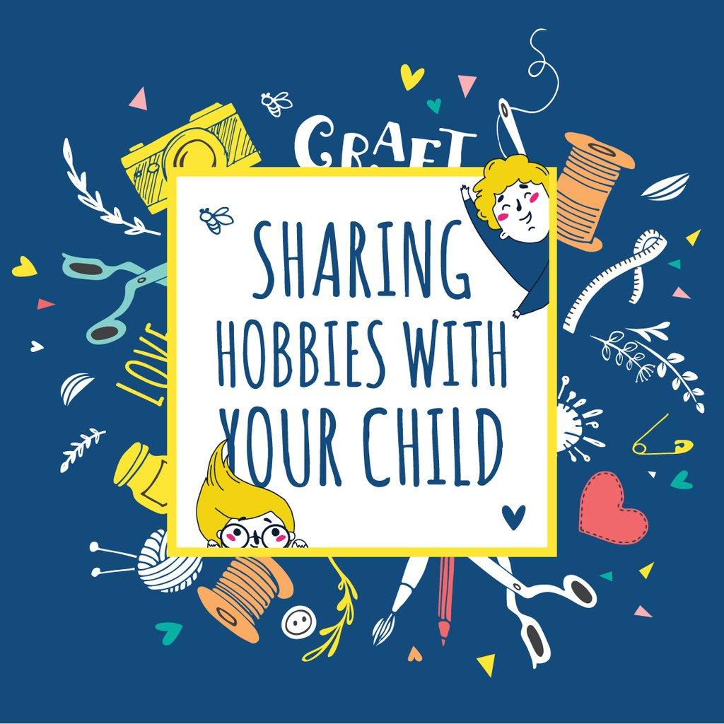 Various hobbies for kids — Создать дизайн