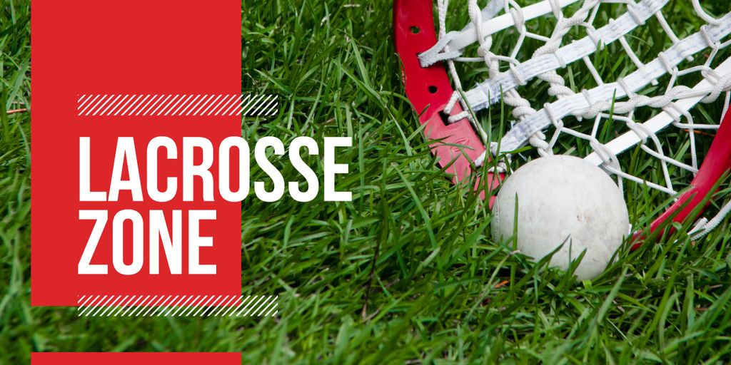 lacrosse zone poster — Crear un diseño