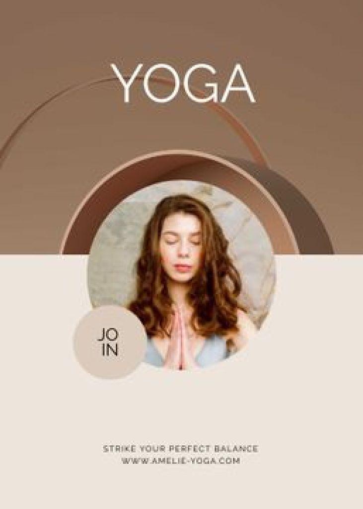 Online Yoga classes promotion — Crear un diseño