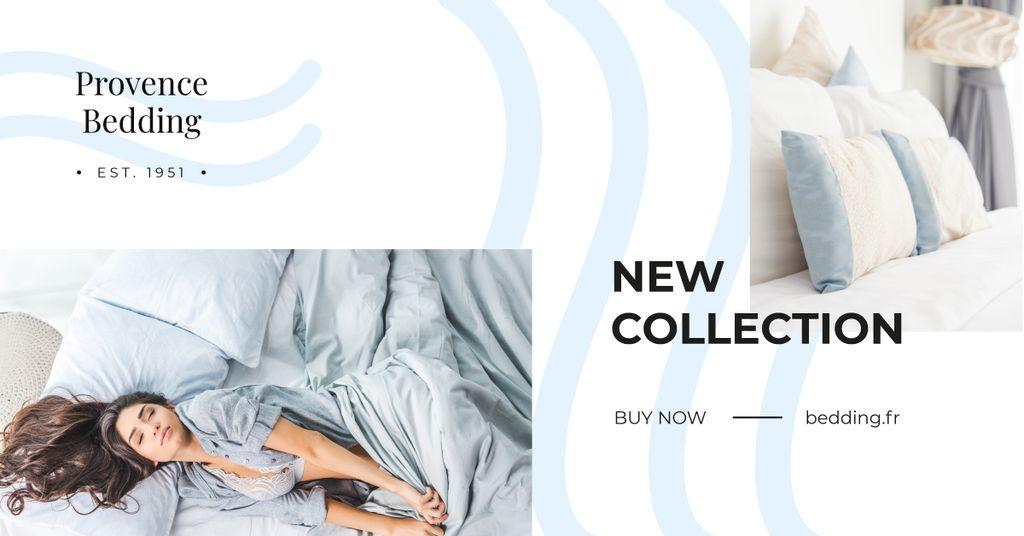 Girl sleeping in bed — ein Design erstellen