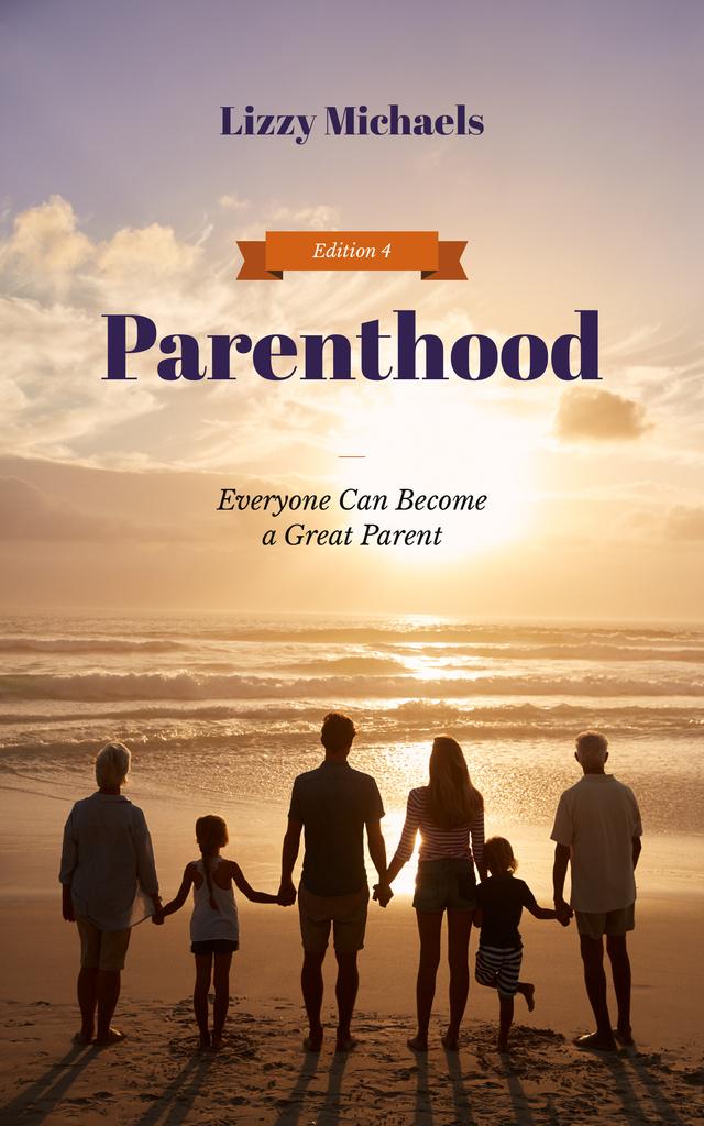 Parents with Kids and Grandparents at Seacoast — Créer un visuel