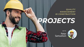 Construction Tips Builder in Hard Hat