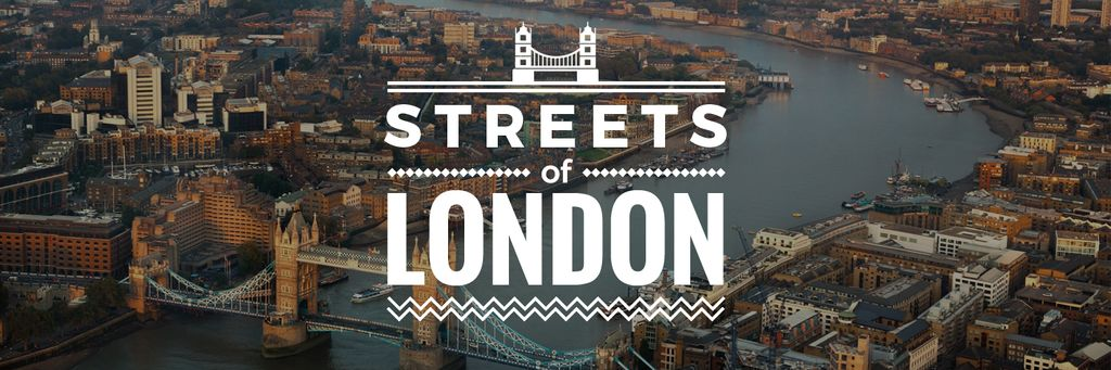 streets of London poster  — Crea un design