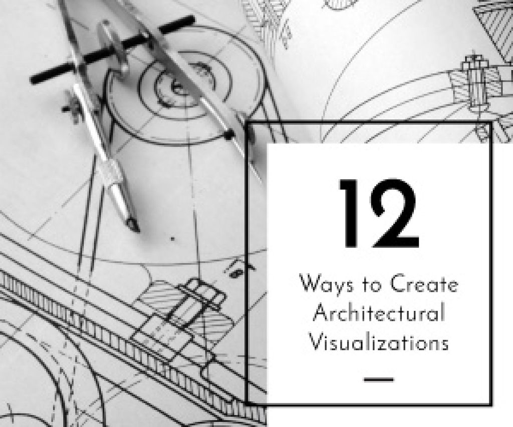 Architectural visualizations banner — Crea un design