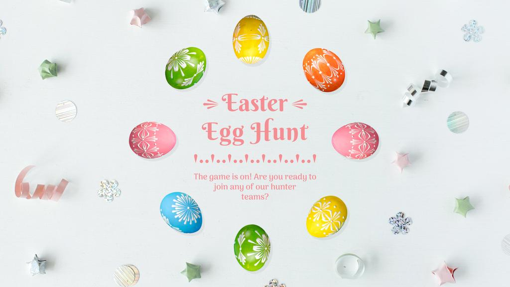 Colored Easter eggs — Create a Design