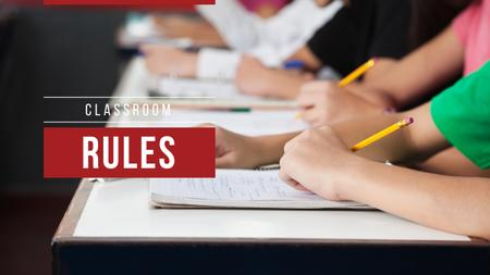 Modèle de visuel Classroom rules with schoolchildren - Youtube