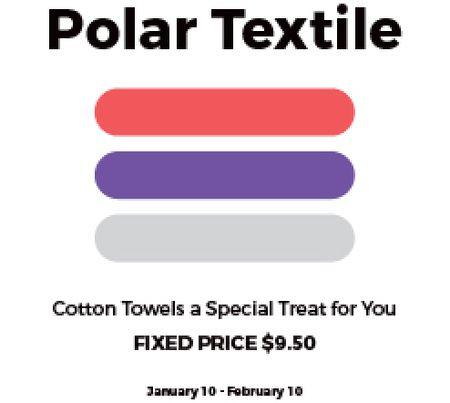 Designvorlage Textile shop Offer für Gift Certificate