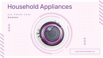 Appliances Offer with Robot Vacuum Cleaner