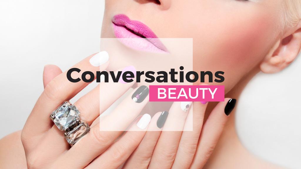 Beauty conversations website — Create a Design