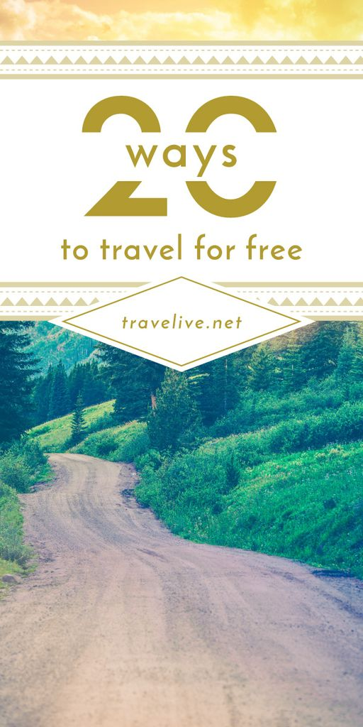 20 ways to travel poster — Create a Design