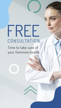 Female Health Clinic Doctor